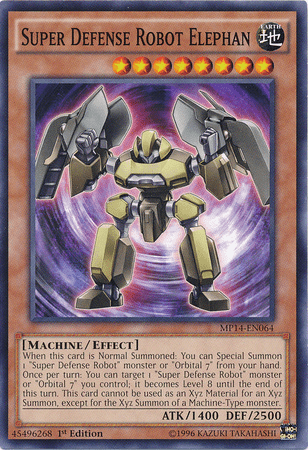Super Defense Robot, one of the least known archetypes in Yugioh