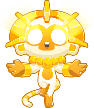 True Sun God, the best rank 5 upgrade in Bloons Tower Defense 6!