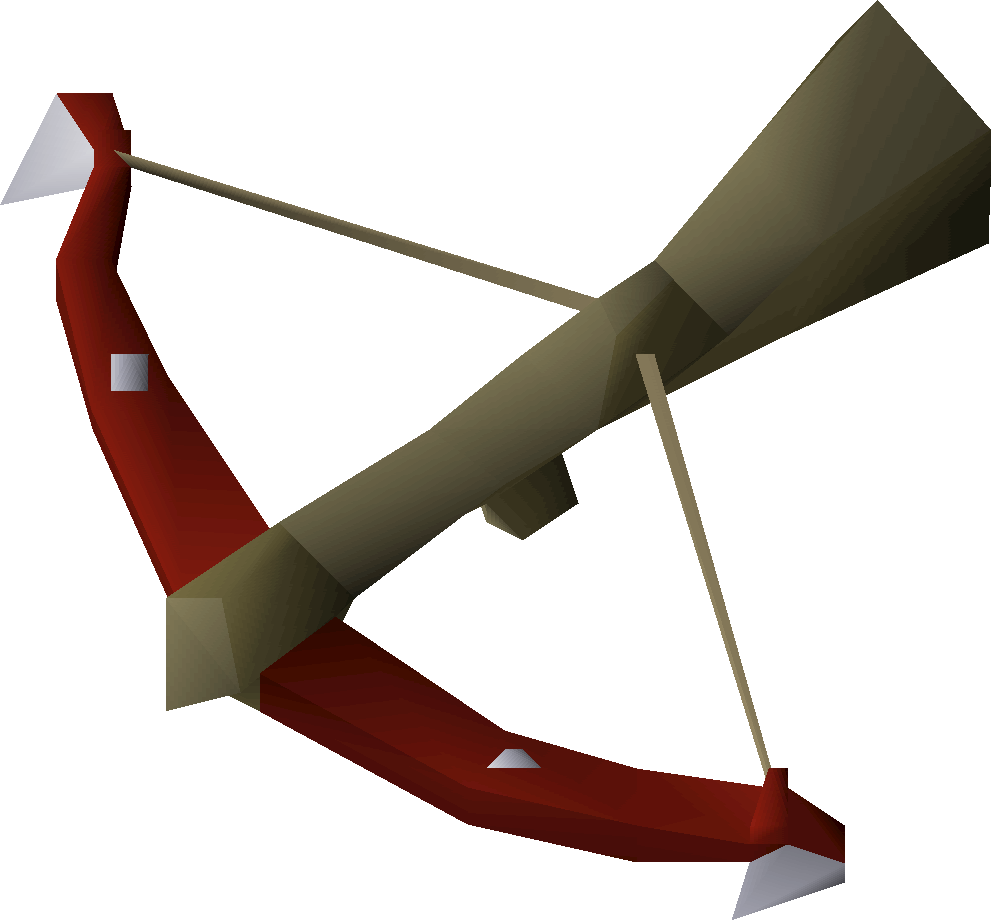 Dragon, one of the best crossbows in OldSchool Runescape
