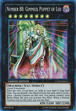 Number 88: Gimmick Puppet of Leo, one of the best win conditions in Yugioh