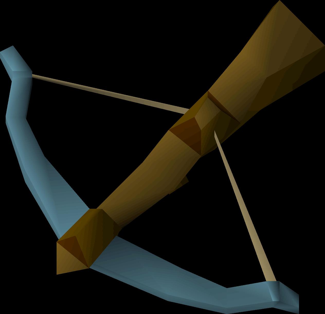 Rune, one of the best crossbows in OldSchool Runescape