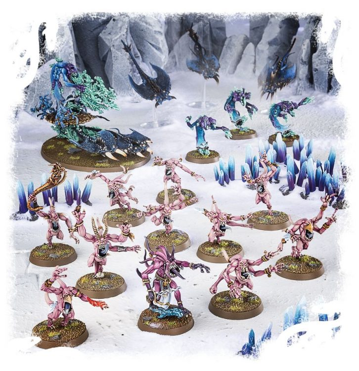 Daemons of Tzeentch, the best Start Collecting box in Age of Sigmar