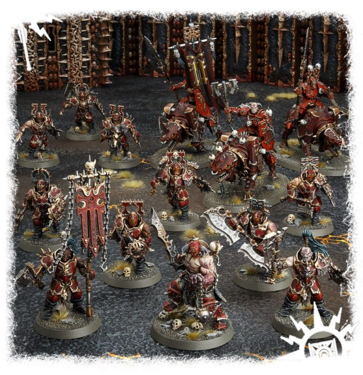 Khorne Bloodbound, one of the best Start Collecting boxes in Age of Sigmar