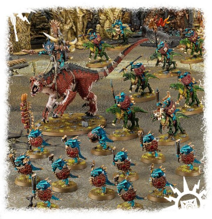 Seraphon, one of the best Start Collecting boxes in Age of Sigmar
