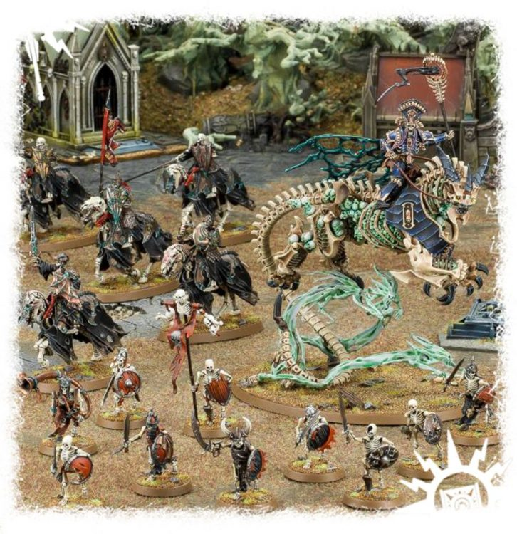 Skeleton Horde, one of the best Start Collecting boxes in Age of Sigmar