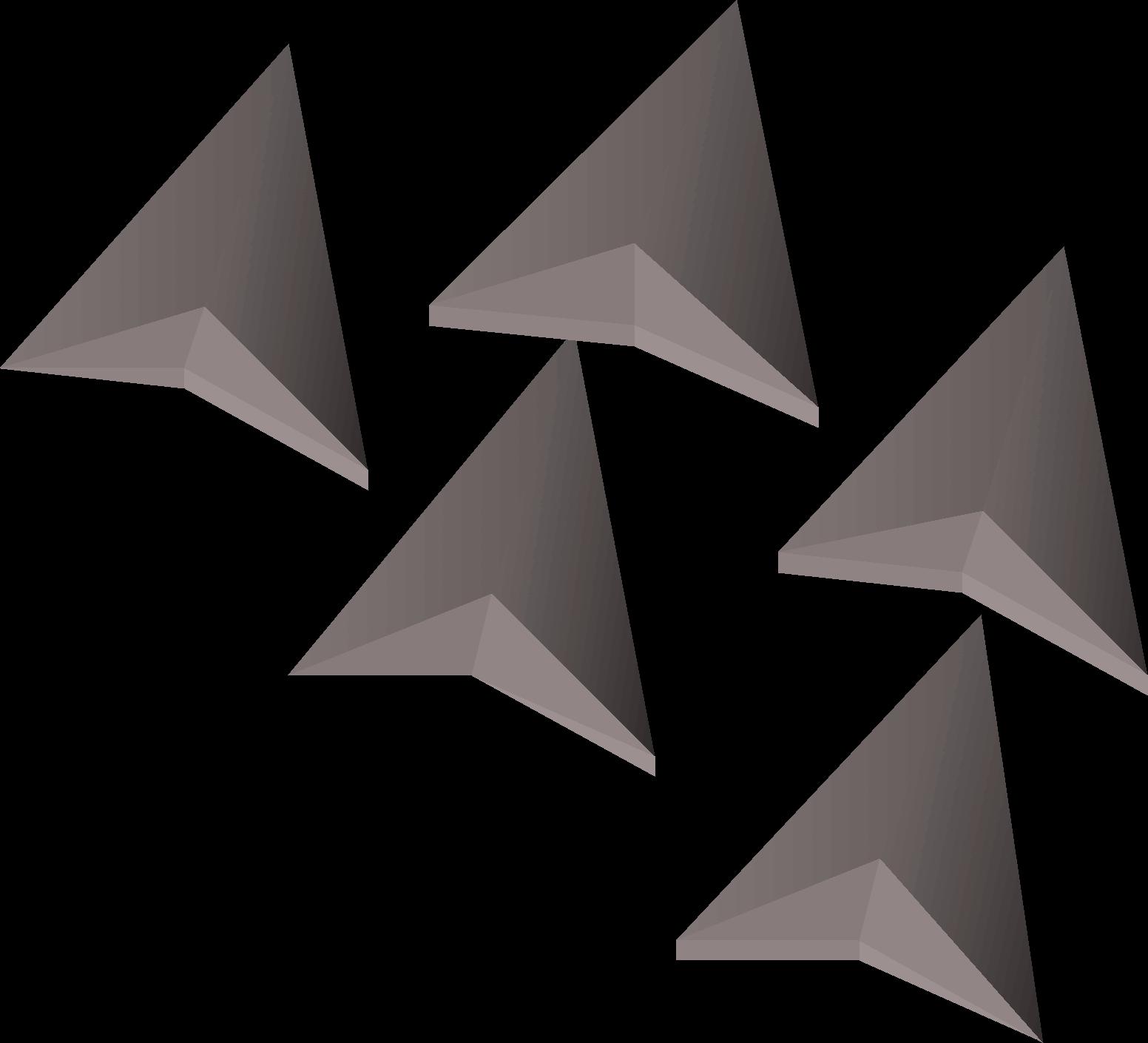 Broad, one of the best arrows in Old School RuneScape