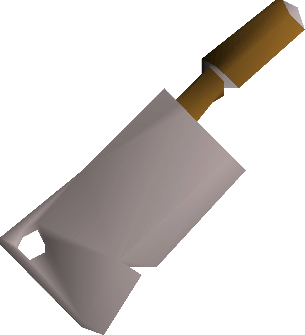 Cleaver, one of the best Scimitars in Old School RuneScape