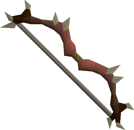 Dark, one of the best bows in Old School RuneScape
