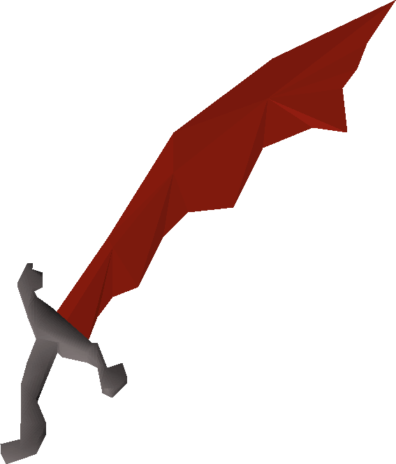 Dragon Scimitar, the best Scimitar in Old School RuneScape