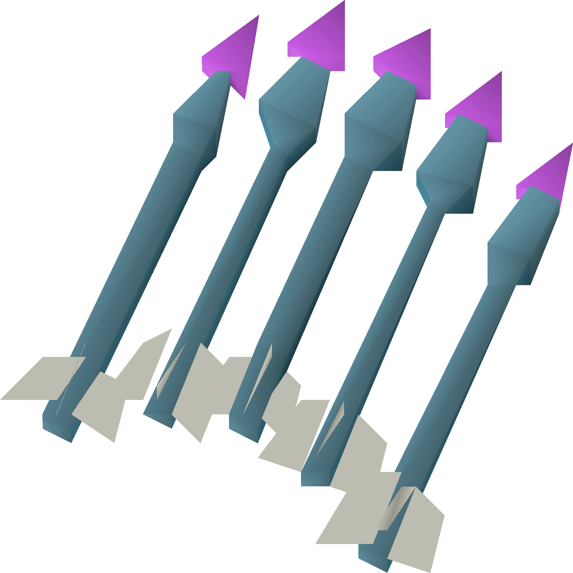 Dragonstone Bolts, one of the best crossbow bolt types in Old School RuneScape