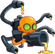 Glue Storm, one of the cheapest rank 5 upgrades in Bloons Tower Defense 6