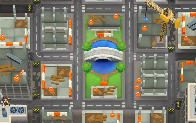 High Finance, one of the hardest maps in Bloons Tower Defense 6