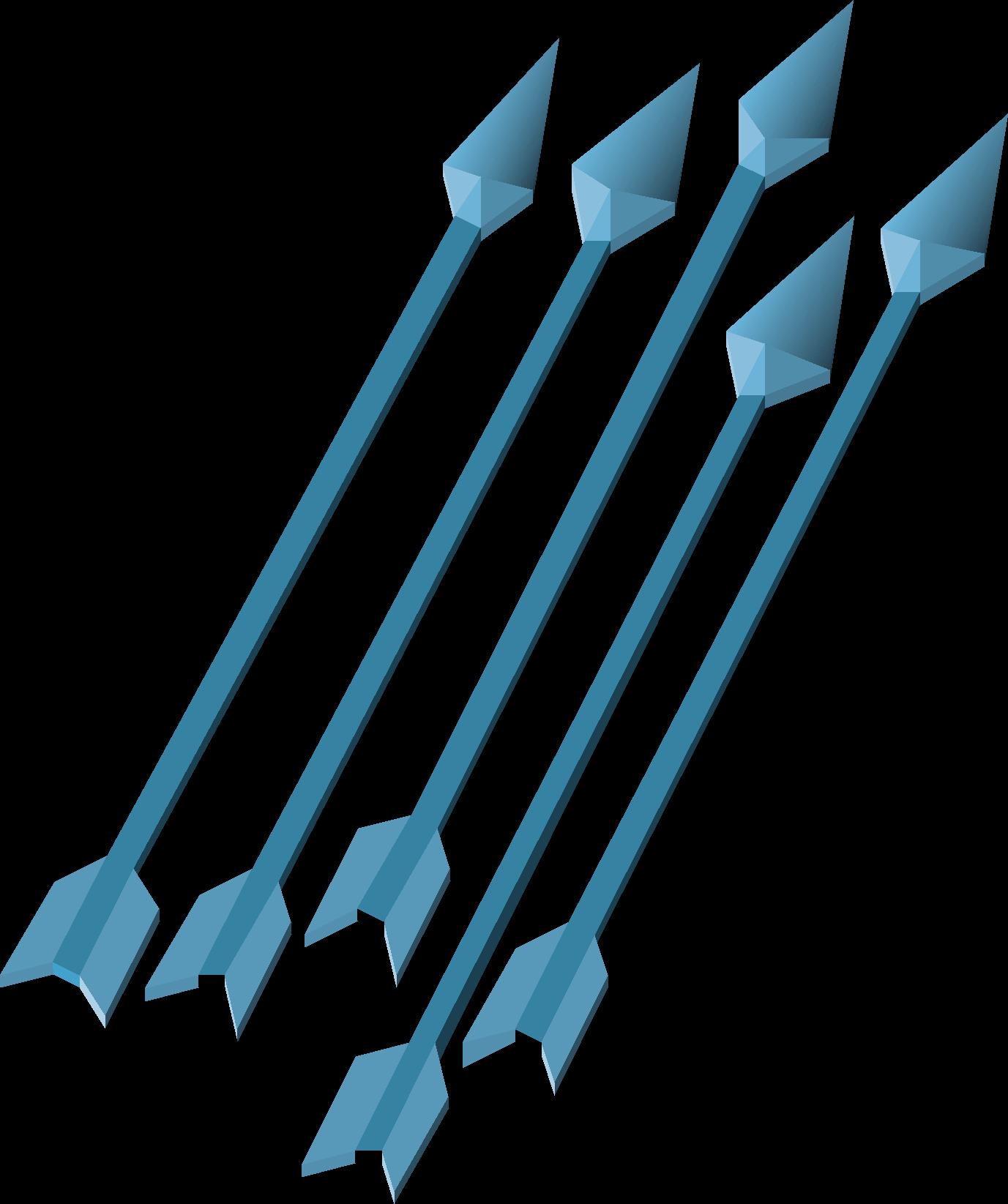Ice, one of the best arrows in Old School RuneScape