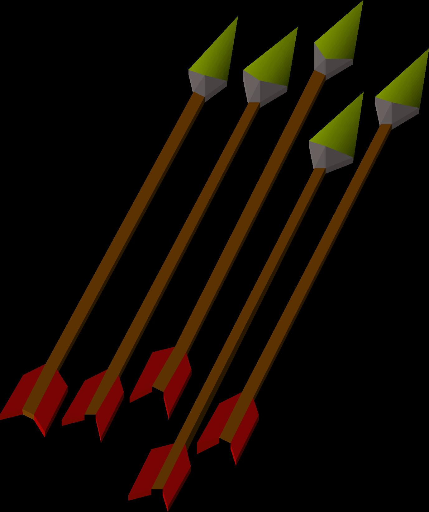 Iron, one of the best arrows in Old School RuneScape