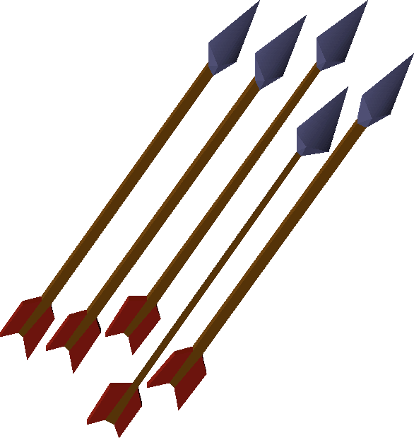 Mithril, one of the best arrows in Old School RuneScape