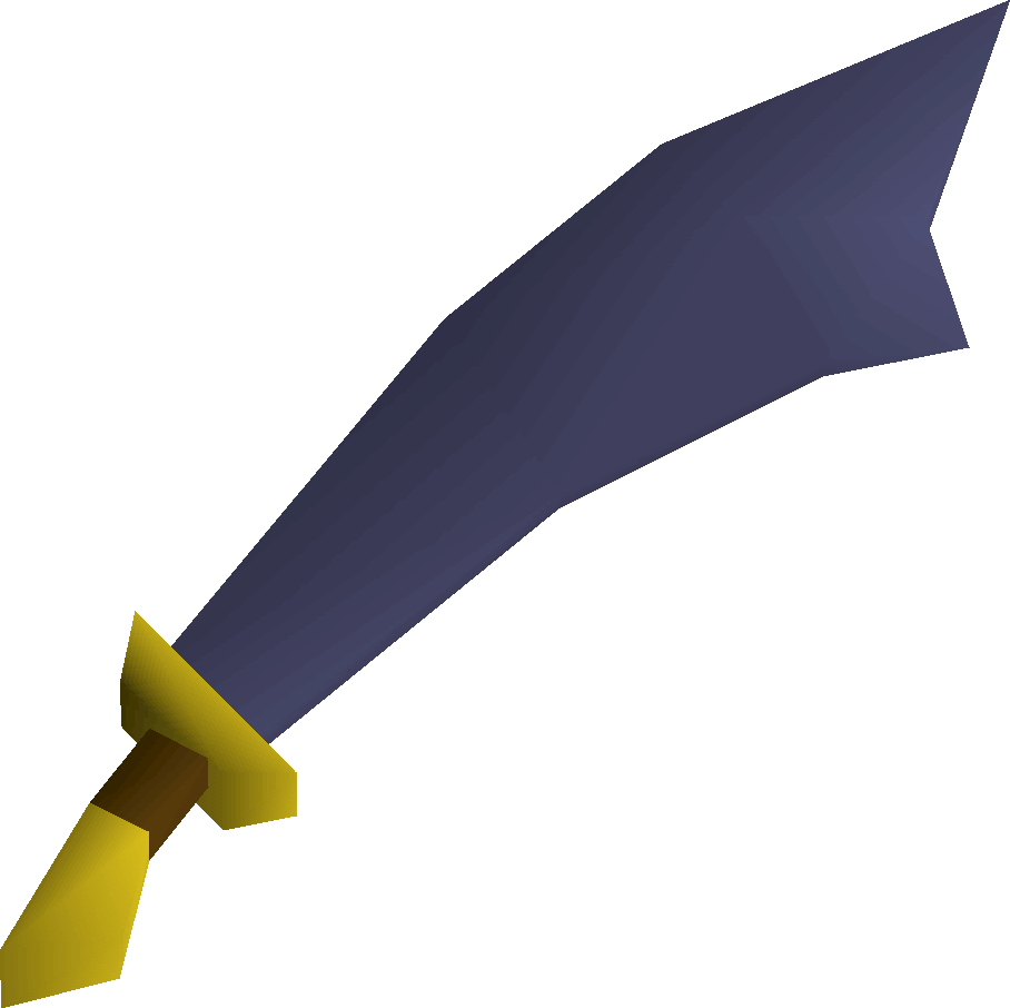 Mithril, one of the best Scimitars in Old School RuneScape