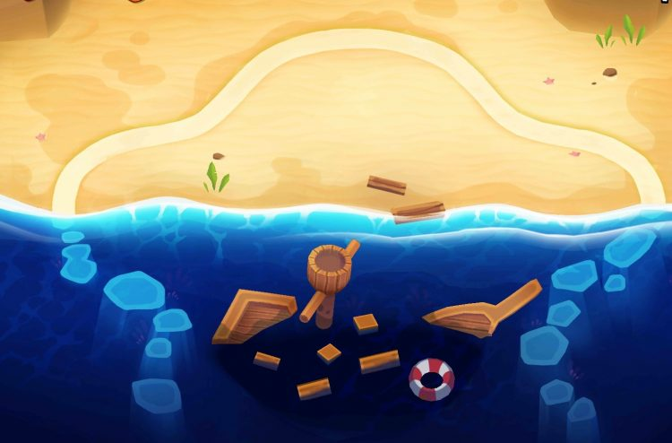 Off the Coast, one of the hardest maps in Bloons Tower Defense 6