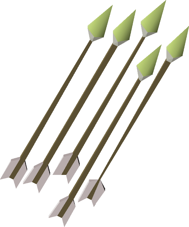 Ogre, one of the best arrows in Old School RuneScape