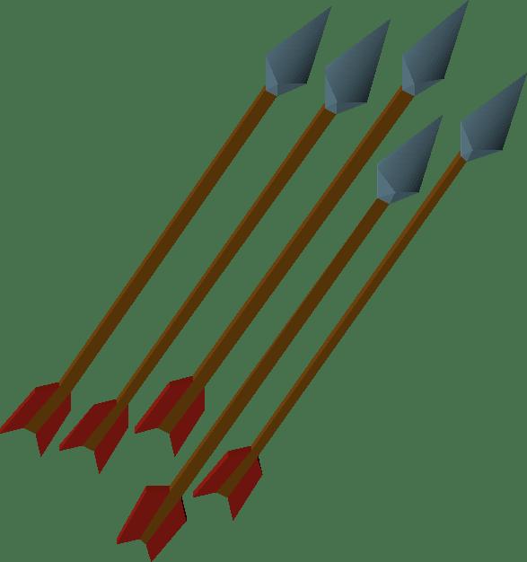 Rune, one of the best arrows in Old School RuneScape