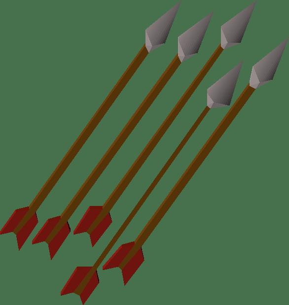 Steel, one of the best arrows in Old School RuneScape