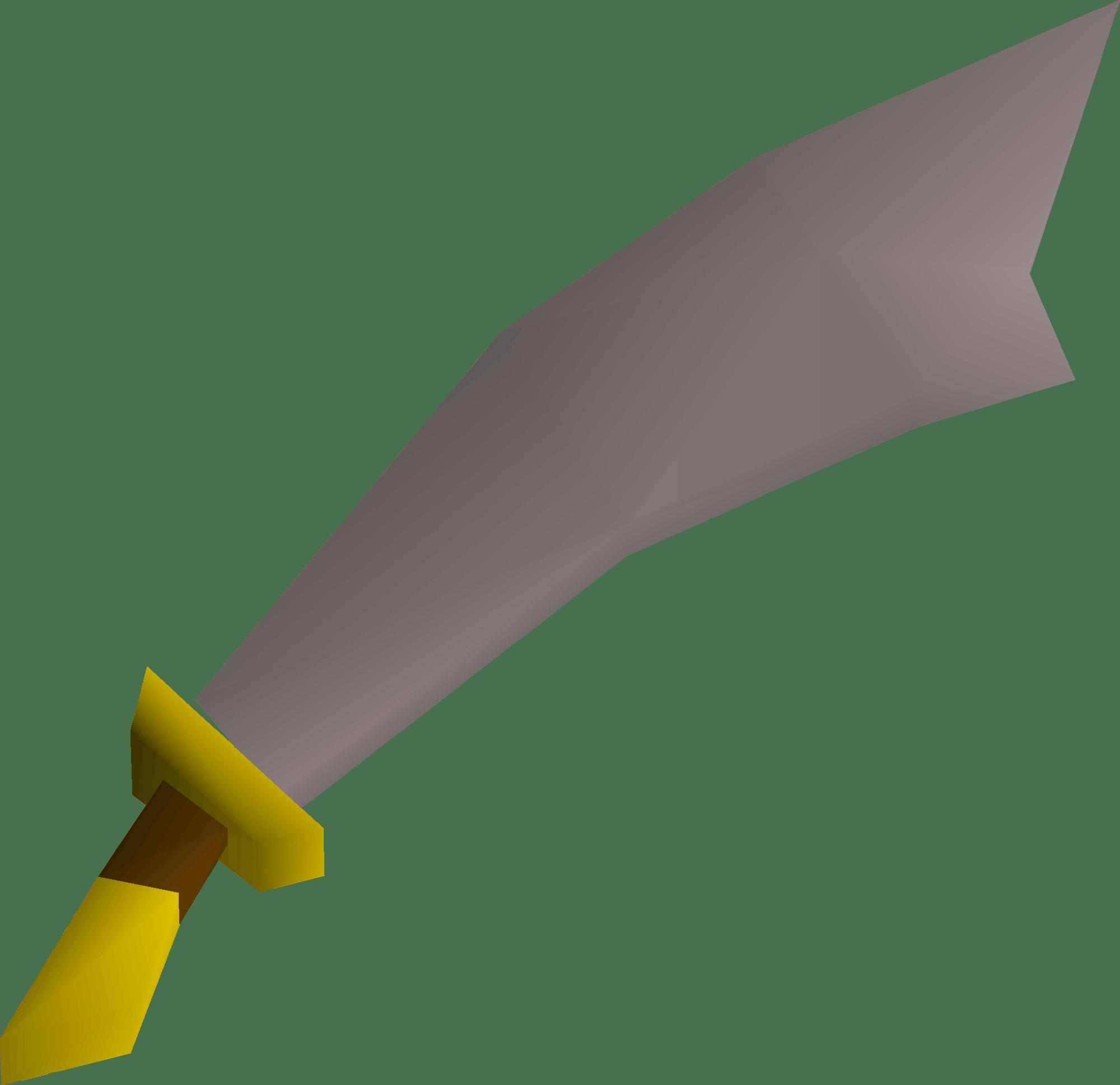 Steel Scimitar, one of the best Scimitars in Old School RuneScape