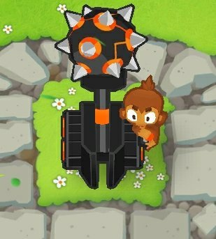 Ultra Juggernaut, one of the cheapest rank 5 upgrades in Bloons Tower Defense 6