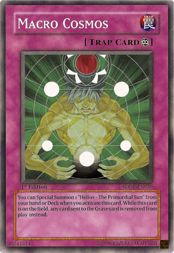 Macro Cosmos, one of the best floodgates in Yugioh