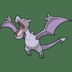 Aerodactyl, one of the best Rock and Flying type Pokemon in Pokemon Let's Go