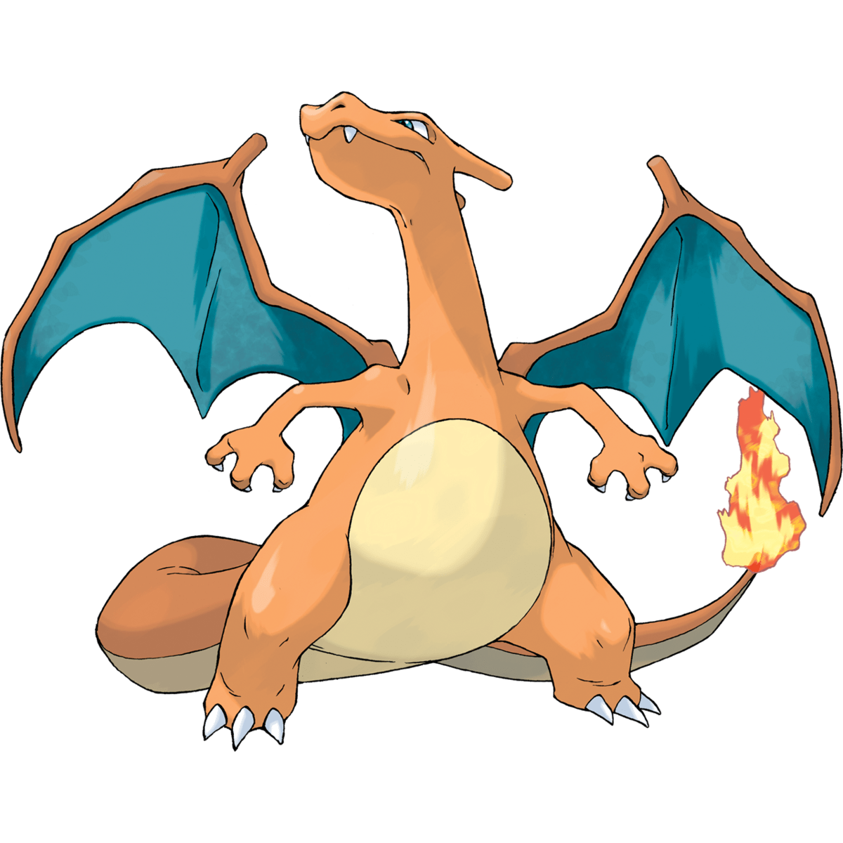 Charizard, the best Fire type and one of the best Flying type Pokemon in Pokemon Let's Go