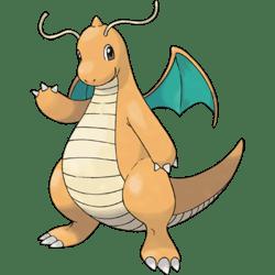 Dragonite, the best Flying and Dragon type Pokemon in Pokemon Let's Go