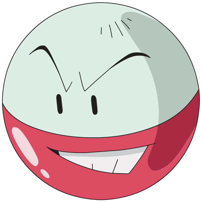 Electrode, one of the best Electric type Pokemon in Pokemon Let's Go