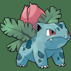 Ivysaur, one of the best Grass type Pokemon in Pokemon Let's Go