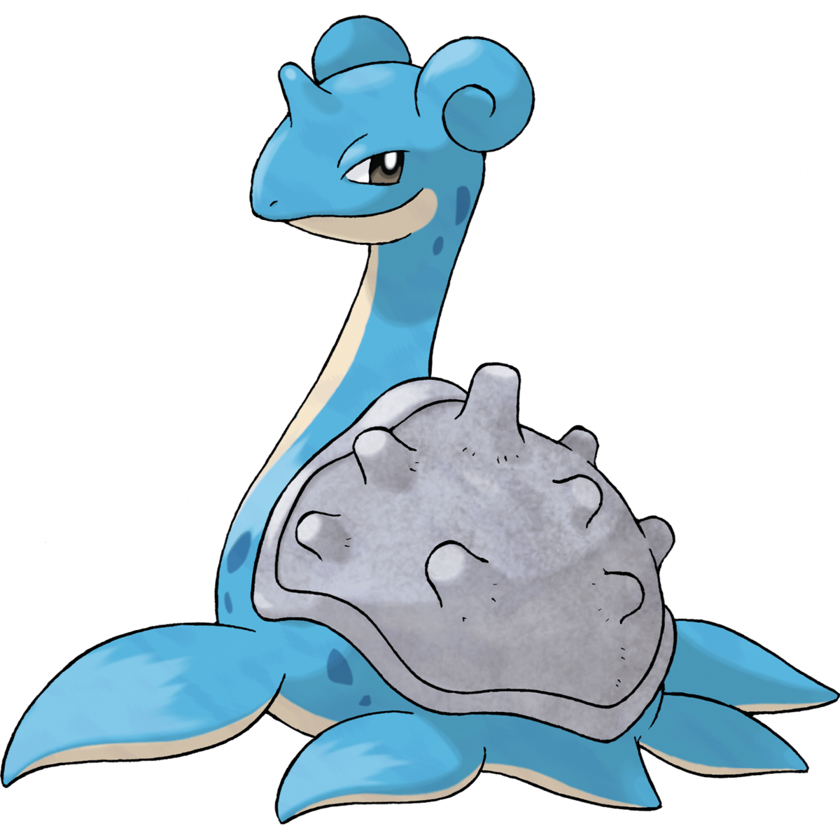 Lapras, one of the best Water type Pokemon in Pokemon Let's Go