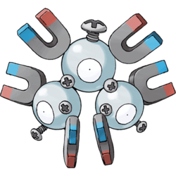 Magneton, one of the best Electric type Pokemon in Pokemon Let's Go