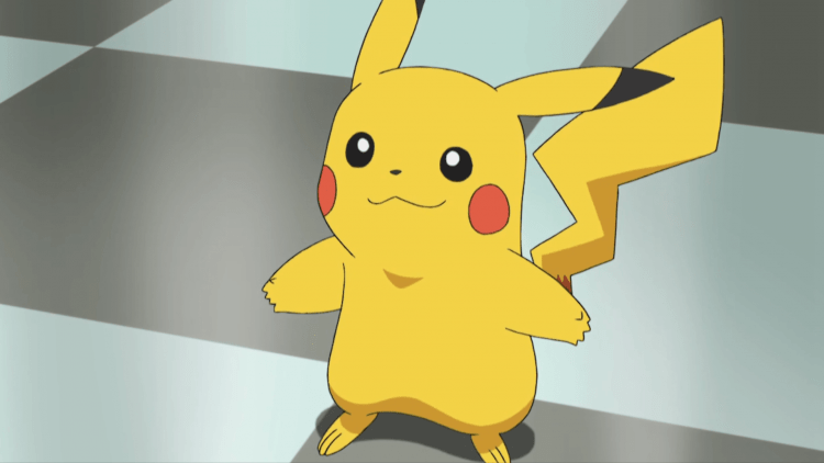 Pikachu, one of the best Electric type Pokemon in Pokemon Let's Go