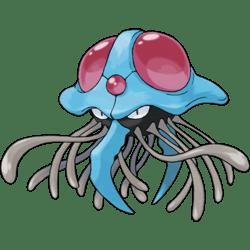 Tentacruel, one of the best Water type Pokemon in Pokemon Let's Go