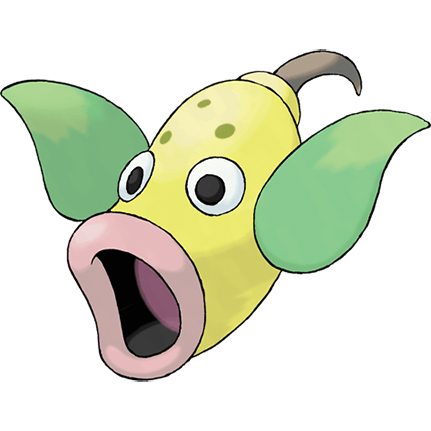 Weepinbell, one of the best Grass type Pokemon in Pokemon Let's Go
