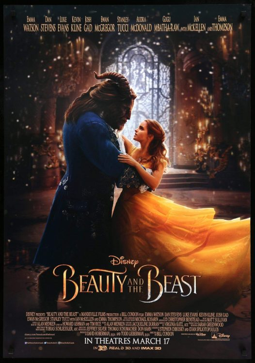 Beauty and the Beast, the best movie for a romantic date!