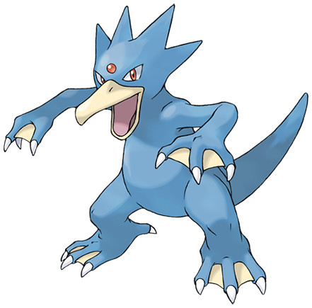 Golduck, one of the best Water type Pokemon in Pokemon Let's Go