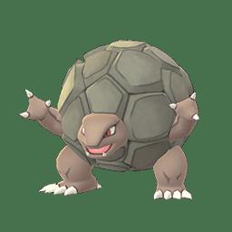 Golem, one of the tankiest Pokemon in Let's Go Pikachu/Eevee