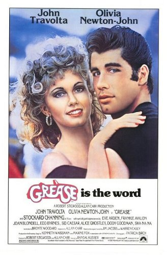 Grease, one of the bets movies for a romantic date