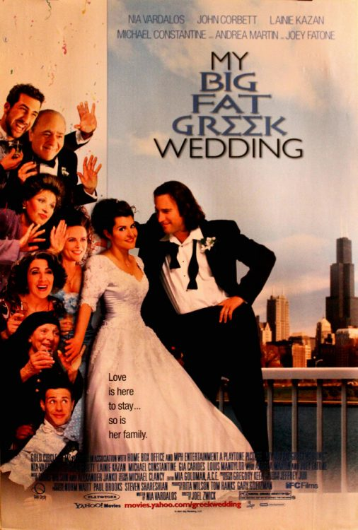 My Big Fat Greek Wedding, one of the bets movies for a romantic date