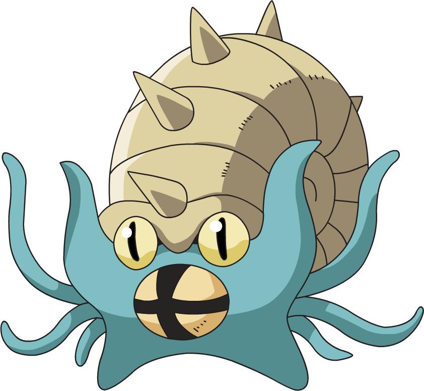 Omastar, one of the tankiest Pokemon in Let's Go Pikachu/Eevee