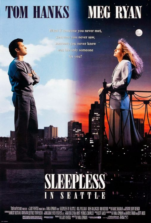 Sleepless in Seattle, one of the bets movies for a romantic date