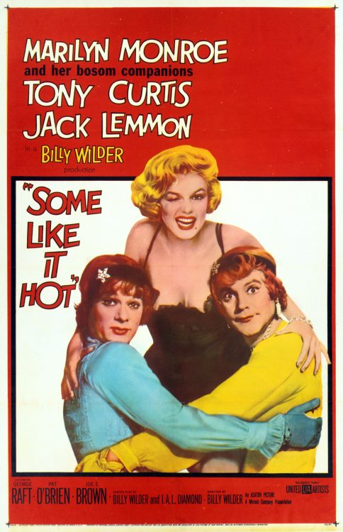 Some Like It Hot, one of the bets movies for a romantic date