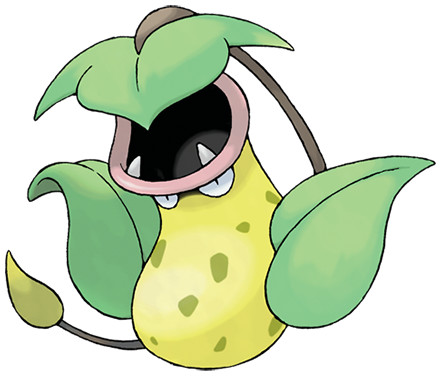 Victreebel, one of the best Grass type Pokemon in Pokemon Let's Go