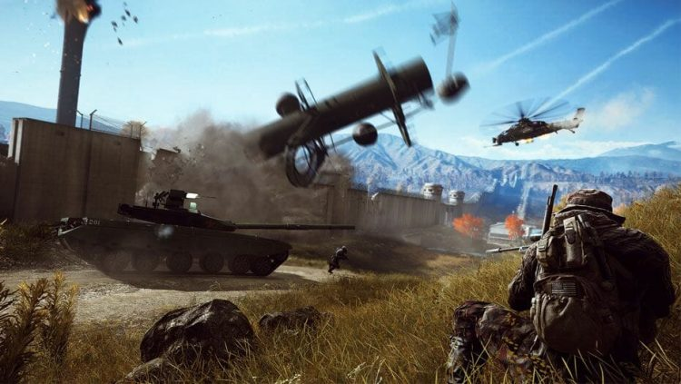 Battlefield 4, one of my favourite video games ever