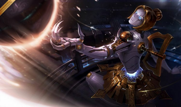 Orianna, one of the best URF champions in League of Legends