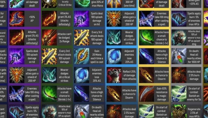 teamfight tactics items